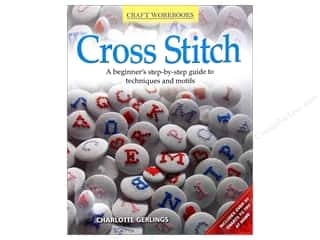 Stitchery, Embroidery, Cross Stitch & Needlepoint Burgundy: Fox Chapel Publishing Craft Workbooks Cross Stitch Book
