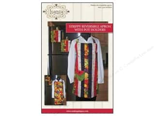 Strippy Reversible Apron Pattern
