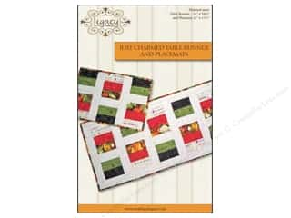 Storey Books $16 - $17: Legacy Just Charmed Table Runner & Placemats Pattern