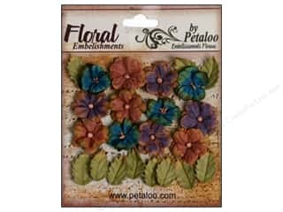 Petaloo Darjeeling Petites Blue/Eggplant/Brown