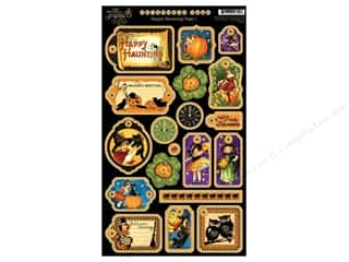Graphic 45 Die Cut Chipboard Happy Haunting 1