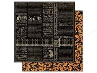 Graphic 45 Paper 12x12 Happy Haunting Bewitched (25 piece)