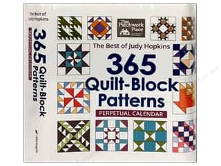 Holiday Gift Ideas Sale Art: 365 Quilt Block Patterns Perpetual Calendar