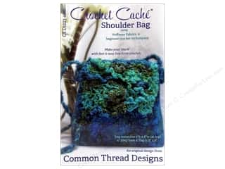 Chains Purse Making: Common Thread Designs Crochet Cache Shoulder Bag Pattern