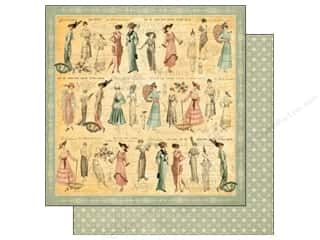 Graphic 45 Paper 12x12 Ladies Diary Garden Stroll (25 piece)