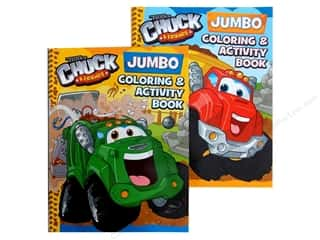 Jumbo Coloring & Activity Astd Tonka Book