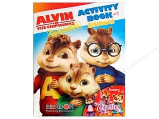 Activity Books / Puzzle Books: Activity Book with Stickers Alvin & Chipmunks