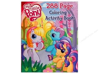 Books & Patterns Bendon Books: Bendon Coloring & Activity Book My Little Pony