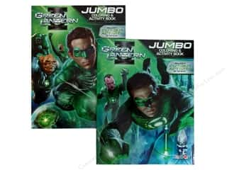 Jumbo Coloring &amp; Activity Astd Green Lantern Book