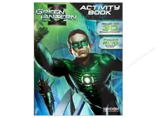Books & Patterns Bendon Books: Bendon Activity Book with Stickers Green Lantern