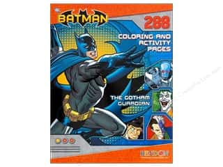 Books & Patterns Bendon Books: Bendon Coloring & Activity Book Batman
