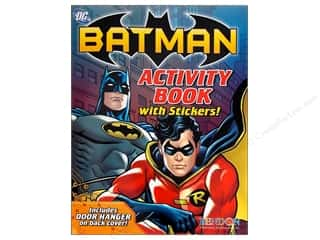 Harper Collins Activity Books / Puzzle Books: Bendon Activity Book with Stickers Batman