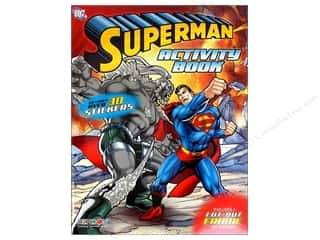 Sheet Vinyl Books & Patterns: Bendon Activity Book with Stickers Superman