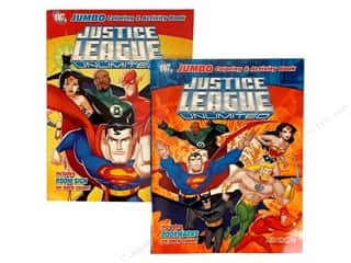 Jumbo Coloring & Activity Astd Justice League Book