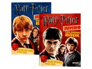 Jumbo Coloring & Activity Astd Harry Potter Book