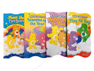 Shaped Board Astd Care Bears Book