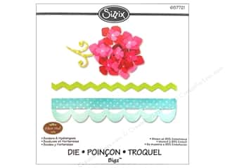 Borders $4 - $8: Sizzix Bigz Die Borders & Hydrangeas by Eileen Hull