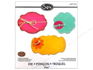 Sizzix Bigz Die Labels & Buttons by Eileen Hull