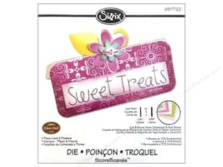 Sizzix Die EHull ScoreBoards Place Card & Flowers