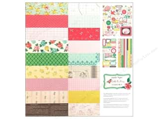 phrase stickers: Crate Paper Collection Pack 12x12 Little Bo Peep
