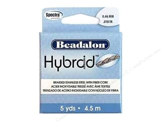 "Beading & Jewelry Making Supplies: Beadalon Hybraid Wire Braid .018"" 5yd"