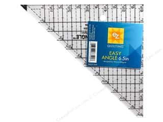 Seam Creasers $6 - $8: EZ Quilting Easy Angle Acrylic Template 6 1/2 in.