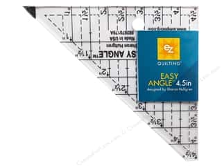 EZ Quilting Easy Angle Acrylic Template 4 1/2 in.