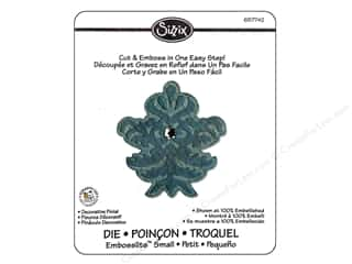Embossing Aids Sizzix Die: Sizzix Embosslits Die Decorative Finial by Scrappy Cat