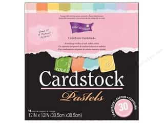 Coredinations Cdstk Pack 12x12 ColorCore Pastels