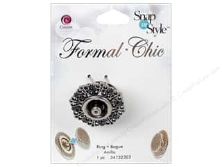 Cousin Snap In Style Base Formal Snap Filig Ring