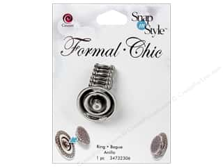 Cousin Snap In Style Base Formal Snap Strtch Ring