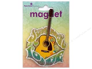 Music & Instruments Craft & Hobbies: Paper House Magnet 3D Summer Of Love