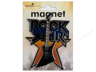 Music & Instruments Craft & Hobbies: Paper House Magnet 3D Rock Star