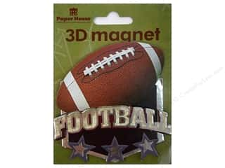 Gifts & Giftwrap Sports: Paper House Magnet 3D Football