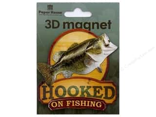 Paper House Magnet 3D Fishing