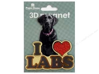 Paper House Magnet 3D I Love Labs