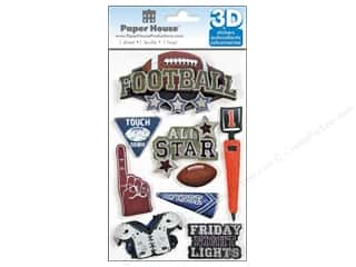 Metal Sports: Paper House Sticker 3D Football