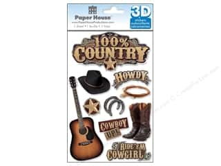 Paper House Sticker 3D 100% Country