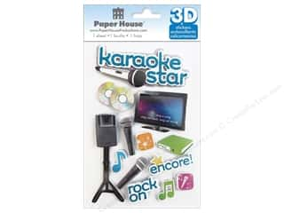 Paper House Sticker 3D Karaoke