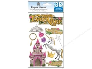 Paper House Sticker 3D Happily Ever After