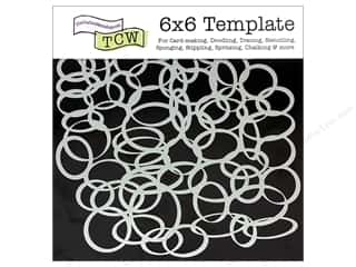 The Crafters Workshop Template 6x6&quot; Ringlets