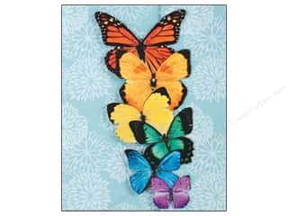 Clearance Jack Dempsey Decorative Hand Towel: Paper House Journal Butterflies