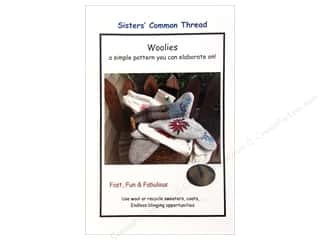 Sisters' Common Thread Wool & Wool Felt Patterns: Sisters' Common Thread Woolies Pattern