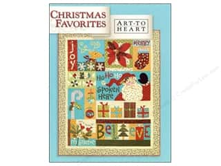Pillow Shams $11 - $12: Art to Heart Christmas Favorites Book by Nancy Halvorsen