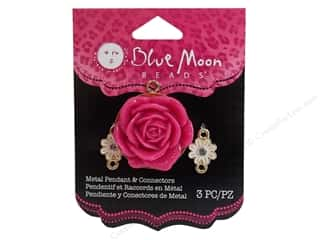 Clearance Blue Moon Pendant: Blue Moon Pendant PS Pendant/Conct Flower Rose Gld