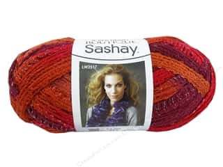 Clearance Red Heart Designer Sport Yarn: Red Heart Boutique Sashay Yarn #1949 Salsa 30 yd.