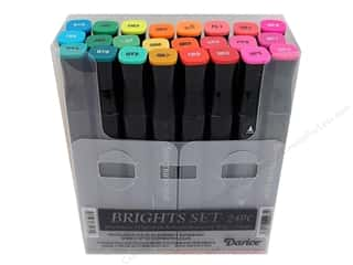 Crafter's Companion Rubber Stamp: Crafter's Companion Spectrum Noir Pen Set Brights 24pc