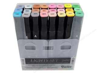 Crafter's Companion Spectrum Noir New: Crafter's Companion Spectrum Noir Pen Set Lights 24pc