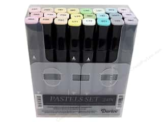 Crafter's Companion Spectrum Noir Pens: Crafter's Companion Spectrum Noir Pen Set Pastels 24pc