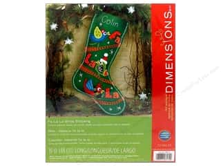 Dimensions Applique Kit Felt Fa La Birds Stocking